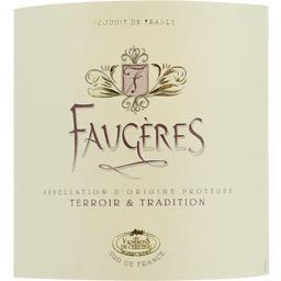Faugères tradition, vin rosé