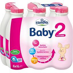 Baby - Lait de suite liquide 2, dès 6-12 mois