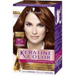 Kératine Color - Coloration soin 5,77 châtain cuivré