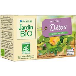 Jardin Bio Infusion Détox saveur menthe BIO