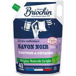 Briochin Briochin Recharge lessive au savon noir la recharge de 2 l