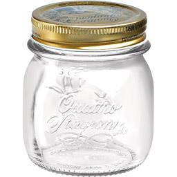 Bocal couvercle capsule caoutchouc 0,25 L