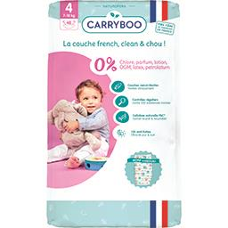 Carryboo Couches ecologiques dermo-sensitives taille 4 (7-18k...
