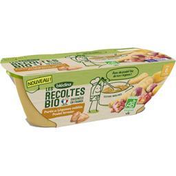 Les Récoltes BIO - Légumes oubliés poulet BIO, dès 8 mois