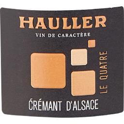 Crémant d'Alsace Le Quatre Hauller Brut 2011