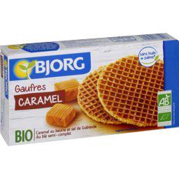 Bjorg Gaufres au caramel BIO