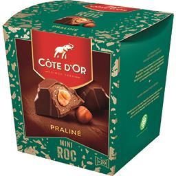 Côte d'Or Côte d'Or Mini Roc praliné la boite de 195 g