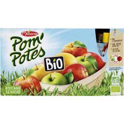 Pom'Potes BIO - Compote de pomme nature BIO