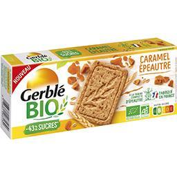 Gerblé Gerblé BIO - Biscuit caramel épeautre BIO la boite de 132 g