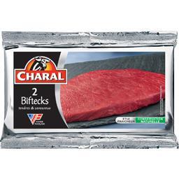 Viande bovine 2 steaks ***
