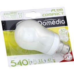 Domédia Ampoule STD fluo 11W B22 l'ampoule
