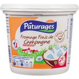 Fromage frais de campagne au lait entier
