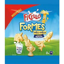 Fromage Formes Méli-Mélo nature