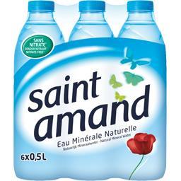 Saint Amand Eau minérale naturelle