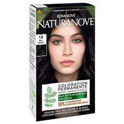 Naturanove - Coloration permanente 1,0 noir intense