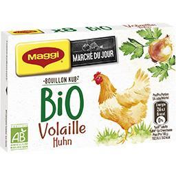 Maggi Maggi Marché du Jour - Bouillon Kub volaille BIO la boite de 80 g