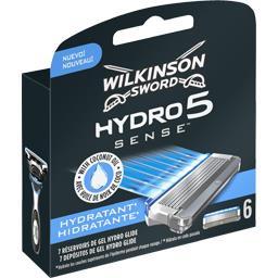 Wilkinson Sword Lames Hydro 5 Sense Hydratante la boite de 6