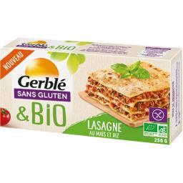 Sans Gluten & BIO - Lasagne au maïs et au riz BIO