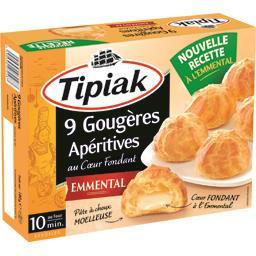 Tipiak Tipiak Gougères apéritives Comté la boite de 9 - 180 g
