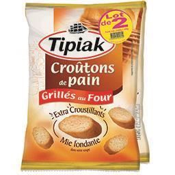 Tipiak Tipiak Croûtons de pain grillés au four