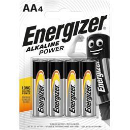 Energizer Energizer Piles alcalines Power AA LR6 les 4 piles