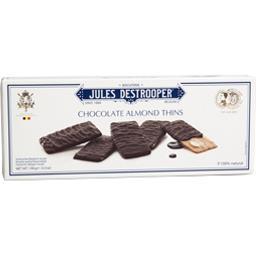 Pain aux amandes enrobé de chocolat noir