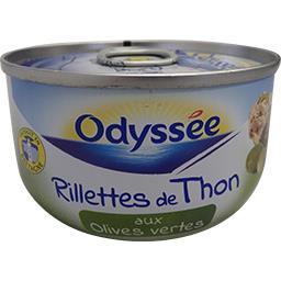 Rillettes de thon olive