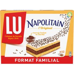 LU LU Napolitain - Gâteau L'Original fourrage chocolat