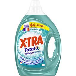 X•TRA X-Tra Total+ - Lessive liquide Fraîcheur+ le flacon de 2,2 l