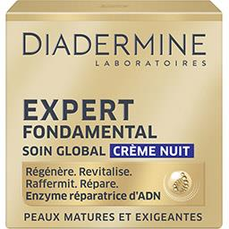 Diadermine Expert Fondamental - Crème nuit soin global
