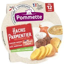 Hachis Parmentier pointe de crème & de thym, dès 12 ...