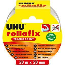 UHU UHU Rollafix ruban d'emballage transparent 50mx50mm l'unité