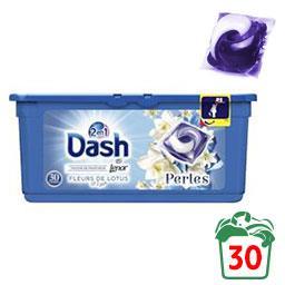 2en1 fleurs lotus & lys - lessive en capsules - 30 lavages