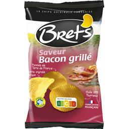 Bret's Bret's Chips saveur bacon grillé le sachet de 125 g