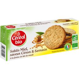 Céréal Bio Céréal Bio Sablés miel, saveur citron & sarrasin BIO le paquet de 132 g