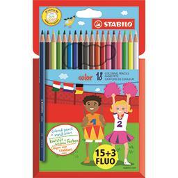 Stabilo Crayons de couleur Color
