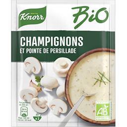 Knorr Knorr Soupe déshydratée BIO champignons pointe de persillade le sachet de 50g