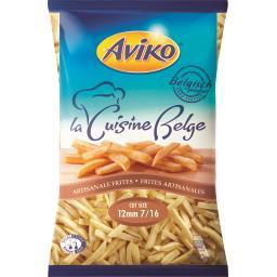 Aviko Frites artisanales La Cuisine Belge le sachet de 2,5 kg