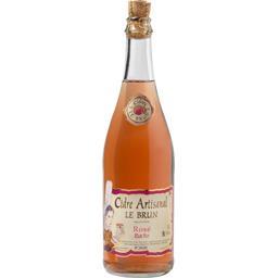 Cidre artisanal rosé