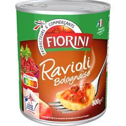 Ravioli bolognaise, riche en viande