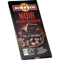 Chocolat noir intense dégustation BIO & équitable