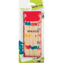 Mikado bois avec pochette