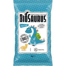 Biosaurus Biscuits apéritif au sel de mer BIO le paquet de 50 g