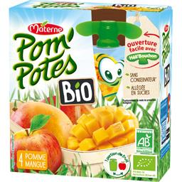 Pom'Potes BIO - Spécialité de fruits pomme mangue BI...