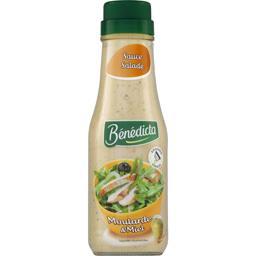 Bénédicta Sauce salade Moutarde & Miel le flacon de 290 g