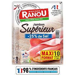 Jambon supérieur sel réduit