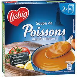 Liebig Liebig Soupe de poissons aux aromates les 2 briques de 30 cl