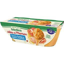 Les Idées de Maman - Tomates boulghour saumon du Pac...