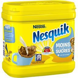 Nestlé Nestlé Chocolat Nesquik - Chocolat en poudre réduit en sucres la boite de 650 g