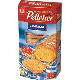 Pelletier - Pains grillé de campagne aux 6 céréales